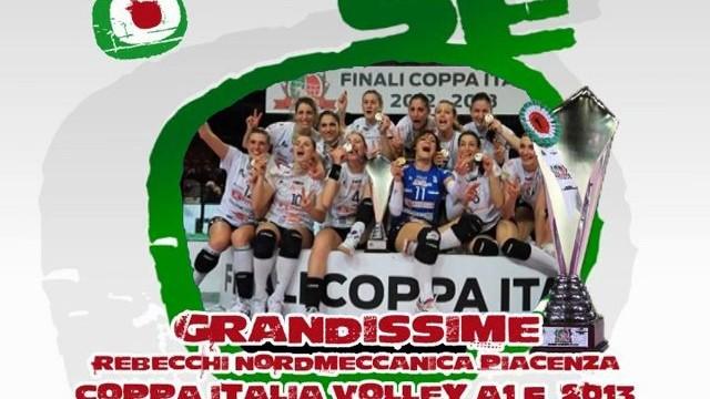 Rebecchi Nordmeccanica Volley Piacenza, grandissime!
