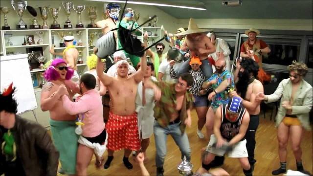 Modena Rugby club Harlem Shake