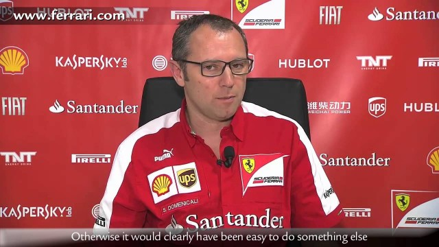 Ferrari, Domenicali guarda avanti