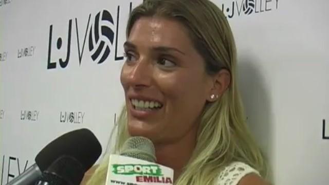 LJ Volley: Francesca Piccinini si presenta