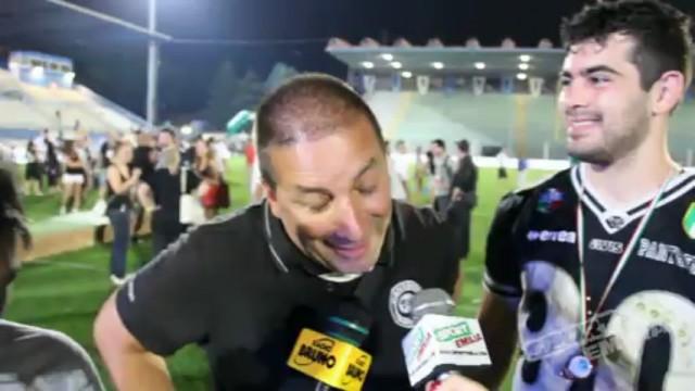 Tira e Bernardoni a caldo dopo il quarto superbowl dei Panthers