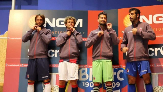 Bologna Fc, presentate le maglie 2013/2014