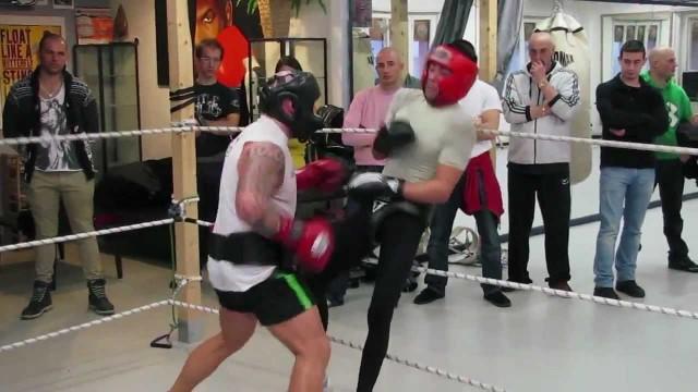 Boxe Parma, sessione di sparring alla Jungle Gym