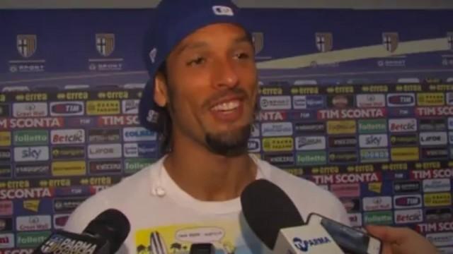 Amauri primo gol ufficiale e prime battute su Cassano e Donadoni