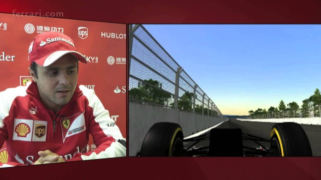 Felipe Massa presenta il Gp di Corea