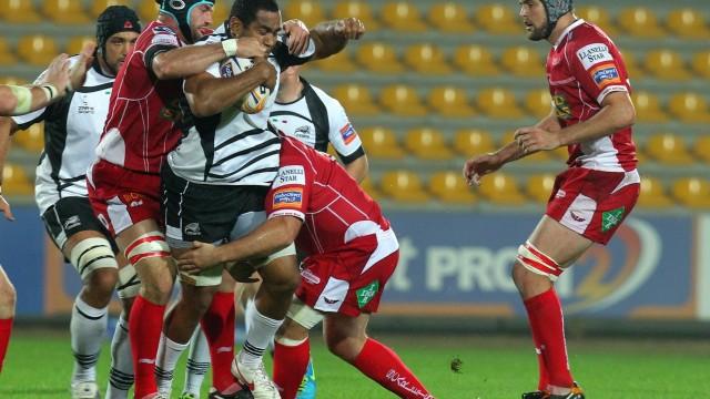 Rugby: Zebre-Scarlets 16-16