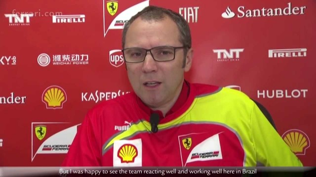 Ferrari, il commento finale di Stefano Domenicali