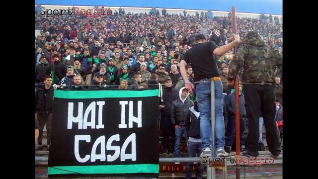 Stadio Reggio Emilia, le proteste dei tifosi di Reggiana e Sassuolo