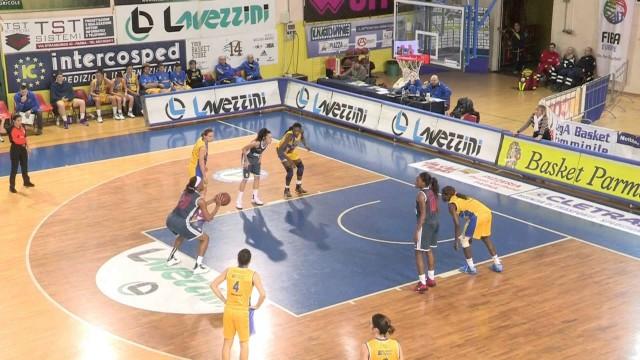 Lavezzini Basket Parma – Cus Cagliari 62-60