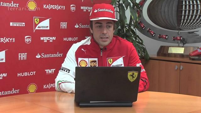 Ferrari: le risposte di Alonso