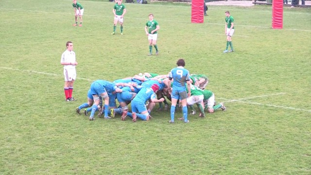 Rugby U18: Italia – Irlanda 9-26, highlights e interviste