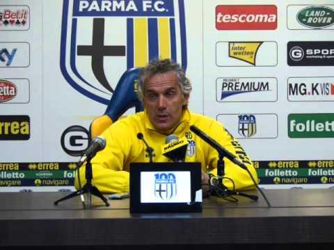 Donadoni prima di Sassuolo-Parma
