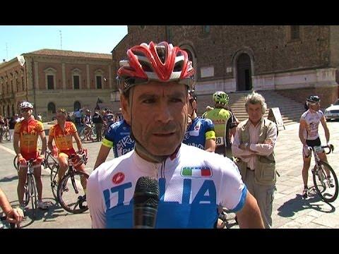 Davide Cassani sorride al Mondiale