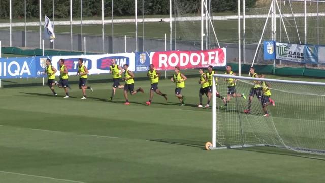 Parma Fc, il primo allenamento al raduno 2014/2015