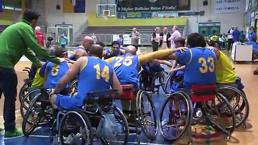 Il wheelchair basket della Gioco Polisportiva a speciale Niente di meno