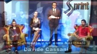 C'è anche il CT Davide Cassani in collegamento a Sprint, il ciclismo in TV 8a puntata