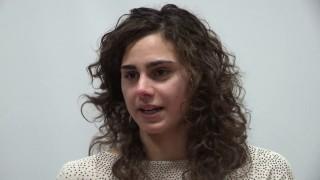 Anmic Parma premia Giulia Ghiretti durante la giornata della disabilità